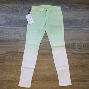 "Sinclair ""Elon - The Stick"" dip dyed Skinny Jeans"